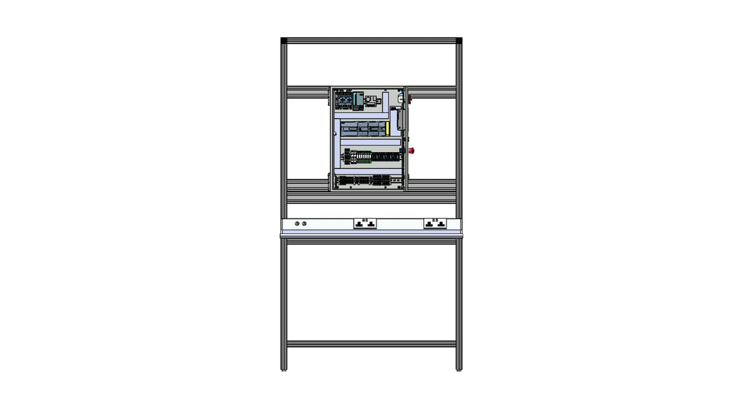 PLC Training System & 1200mm x 600mm Work Station
