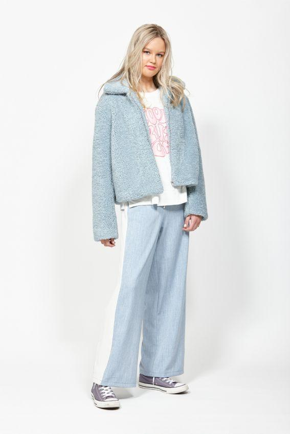 LEO BE Ferry Jacket Pale Blue Front