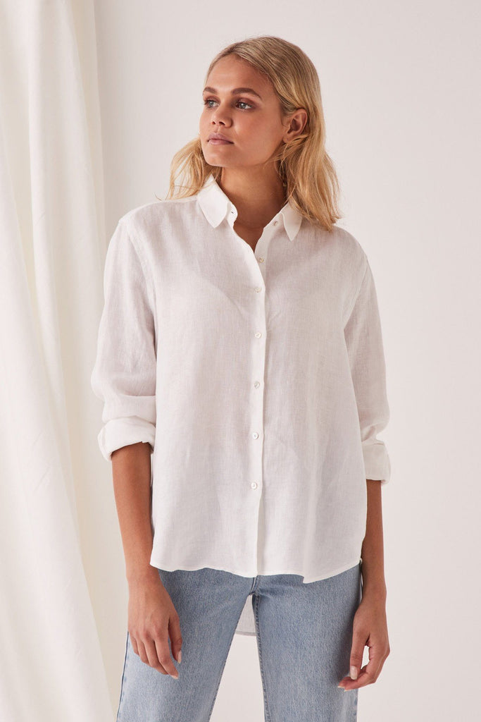 ASSEMBLY Xander Longsleeve Shirt White Front