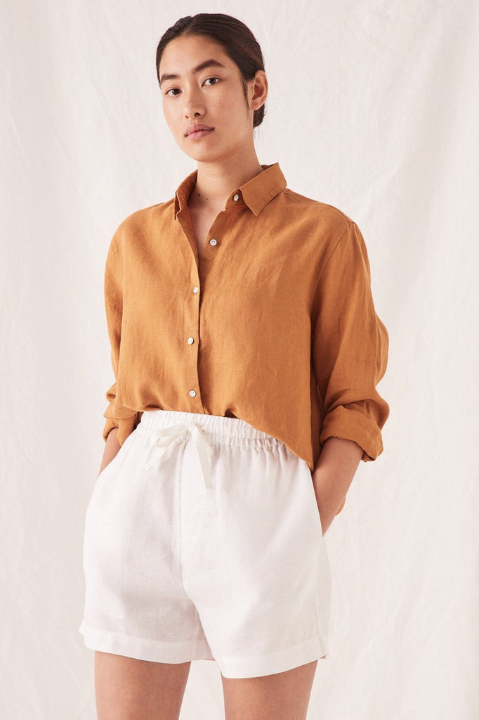 ASSEMBLY Xander Longleeve Shirt Russet