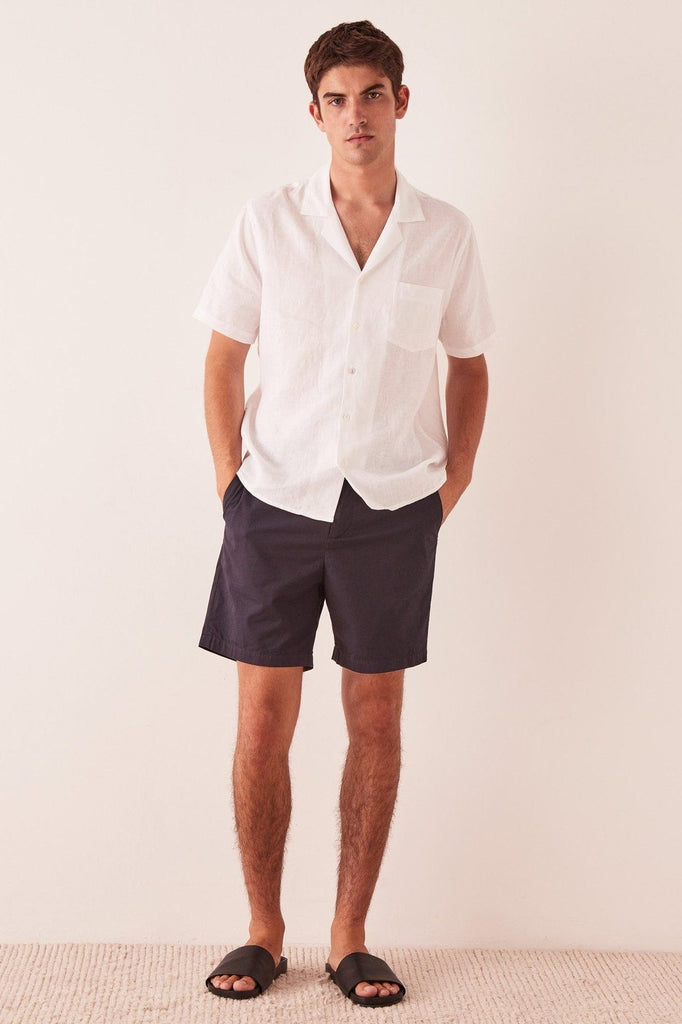 ASSEMBLY The Chino Short True Navy Front
