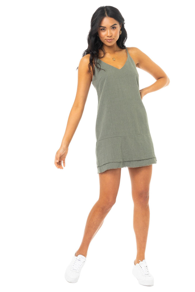 RUSTY Anchoring Dress Savanna Front Full