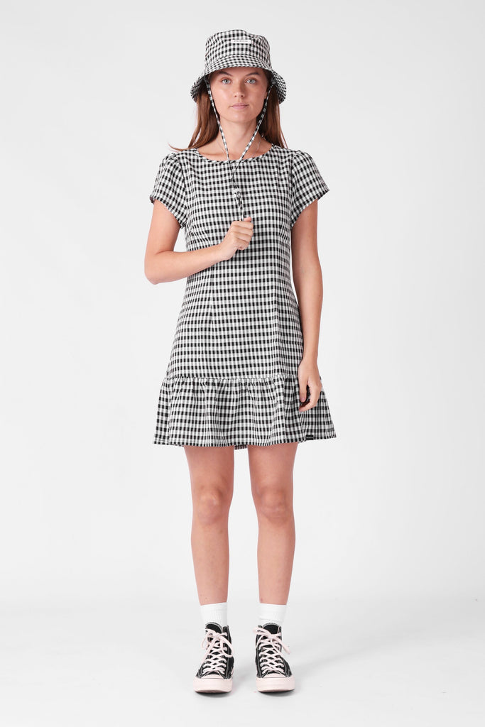 RPM Rosie Dress Black Gingham front