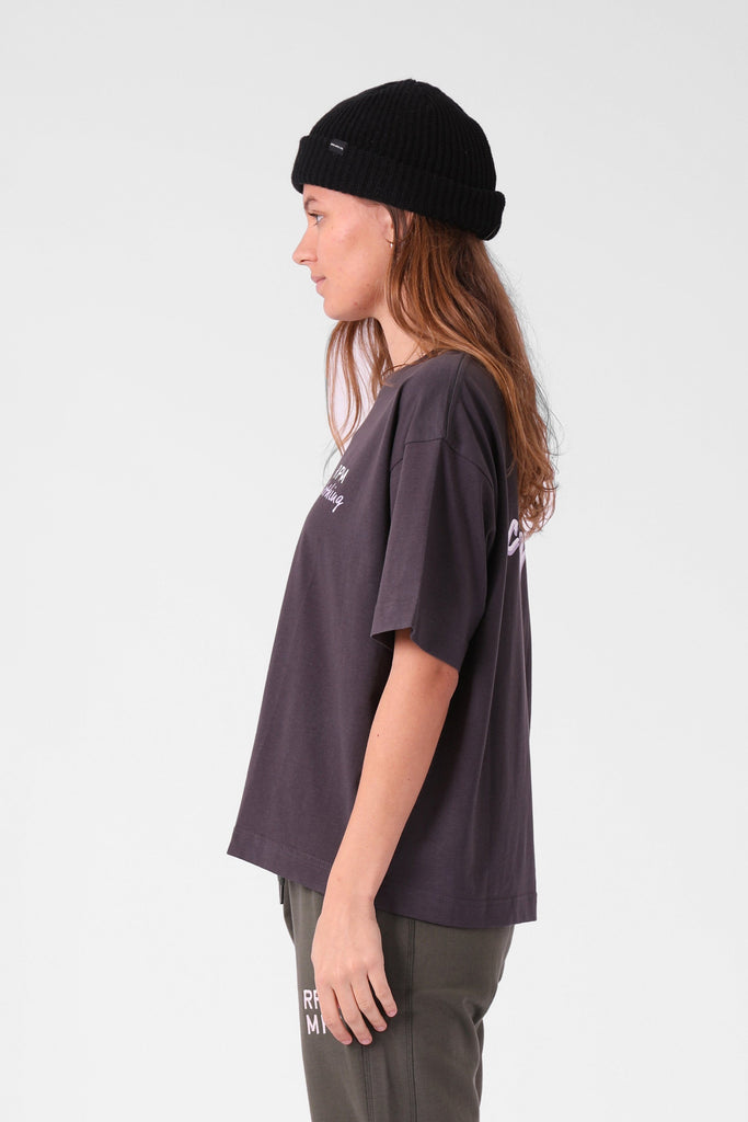 RPM Baggy Tee Charcoal Side