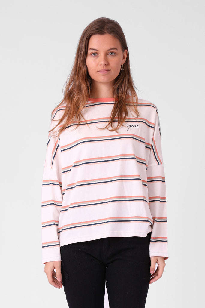 RPM Madi Ls Multi Stripe Front
