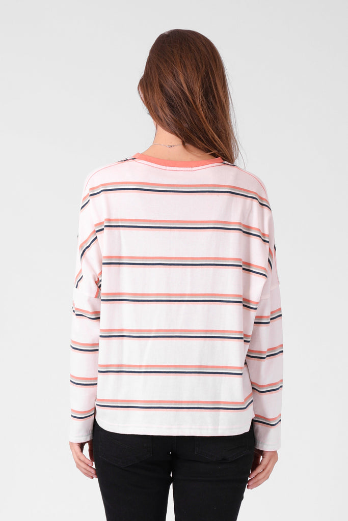 RPM Madi Ls Multi Stripe Back