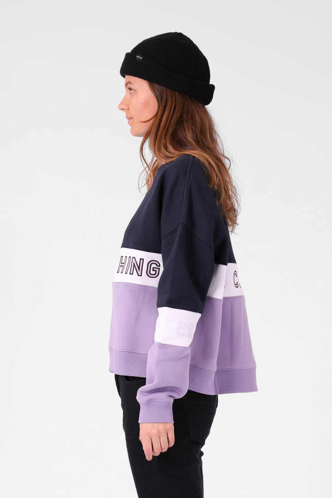 RPM Panel Crew Lavender Navy Side