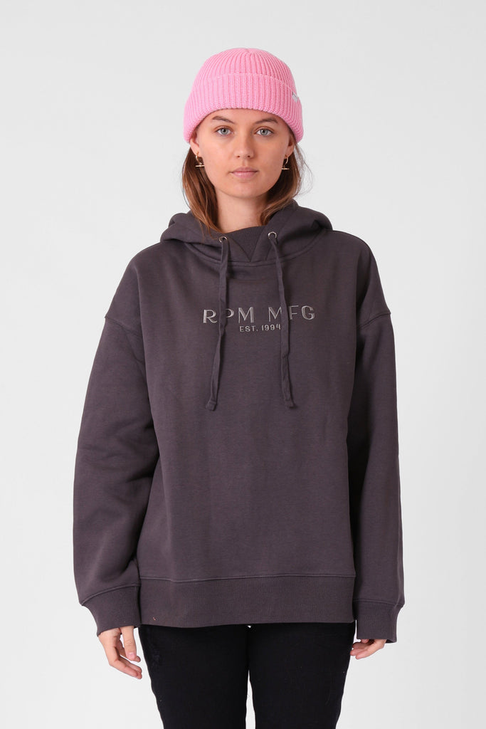 RPM Popover Hood Charcoal Front