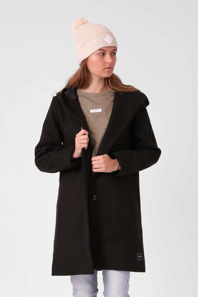 RPM Milford Overcoat Forrest Front Open