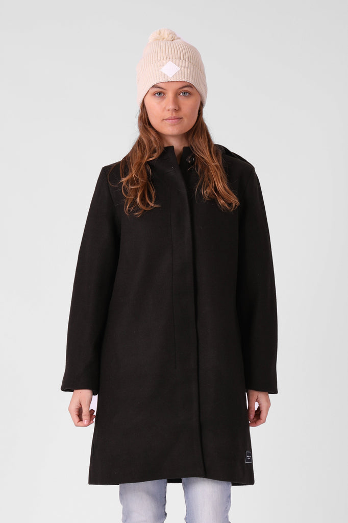 RPM Milford Overcoat Forrest Front Closed