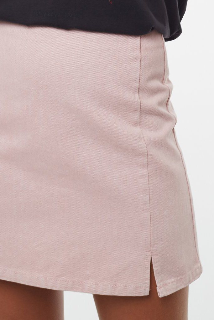 ALL ABOUT EVE Freya Skirt Musk Close Up