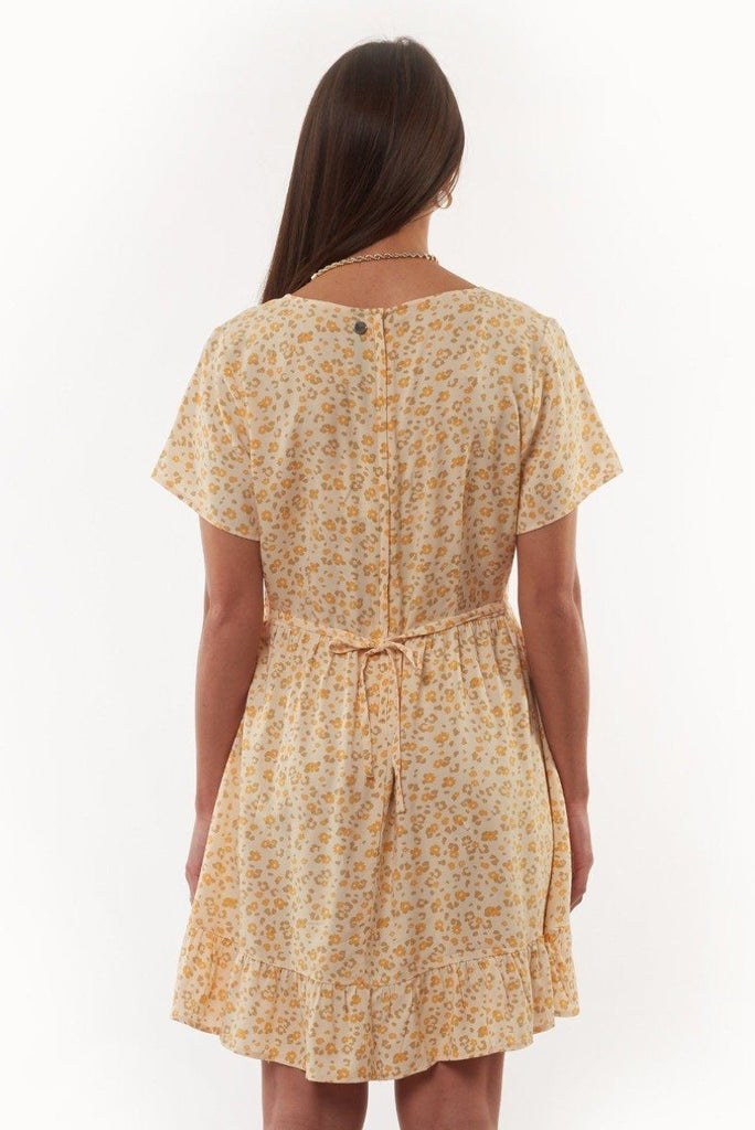 ALL ABOUT EVE Wilderness Dress Print Back