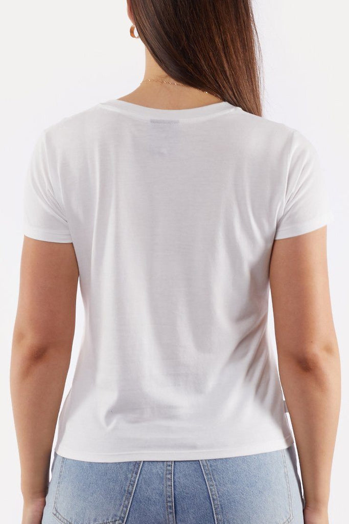 ALL ABOUT EVE All Of Us Tee White Back