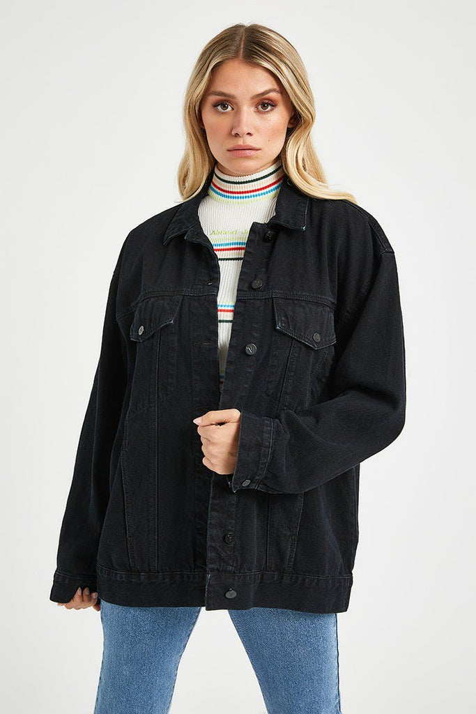 ABRAND Super Os Denim Jacket - BASE Streetwear Wanaka