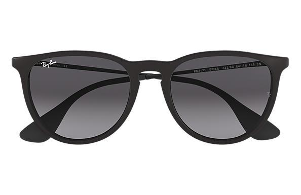 Rayban Erika Black Light Grey Gradient Dark Grey Front