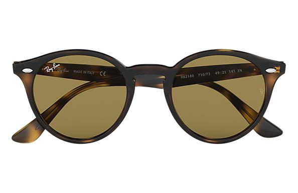 RAYBAN 2180 Light Havana Dark Brown