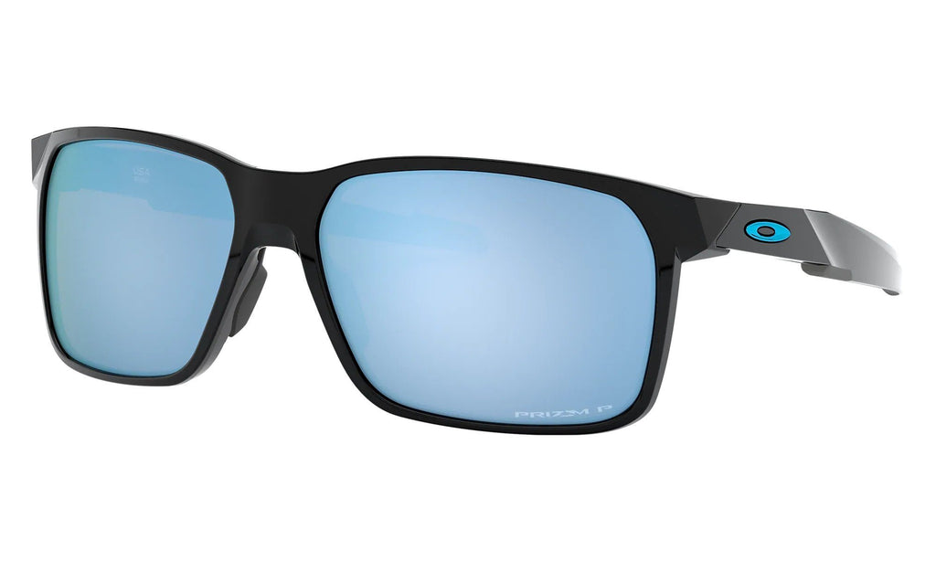 OAKLEY Portal X Polished Black Prizm Deep Water Polarised