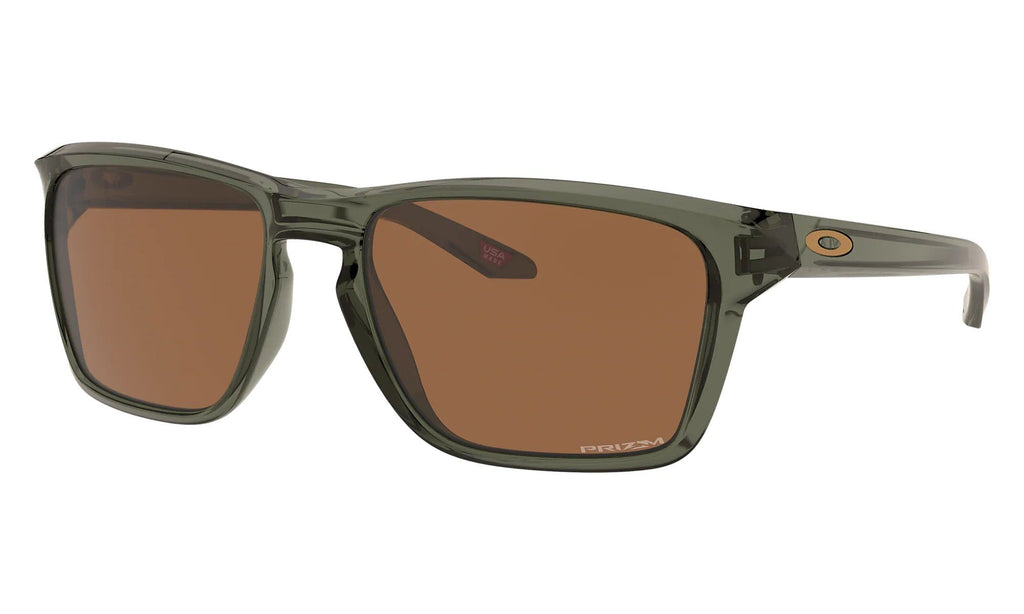OAKLEY Sylas Olive Ink Prizm Tungsten Side Angle