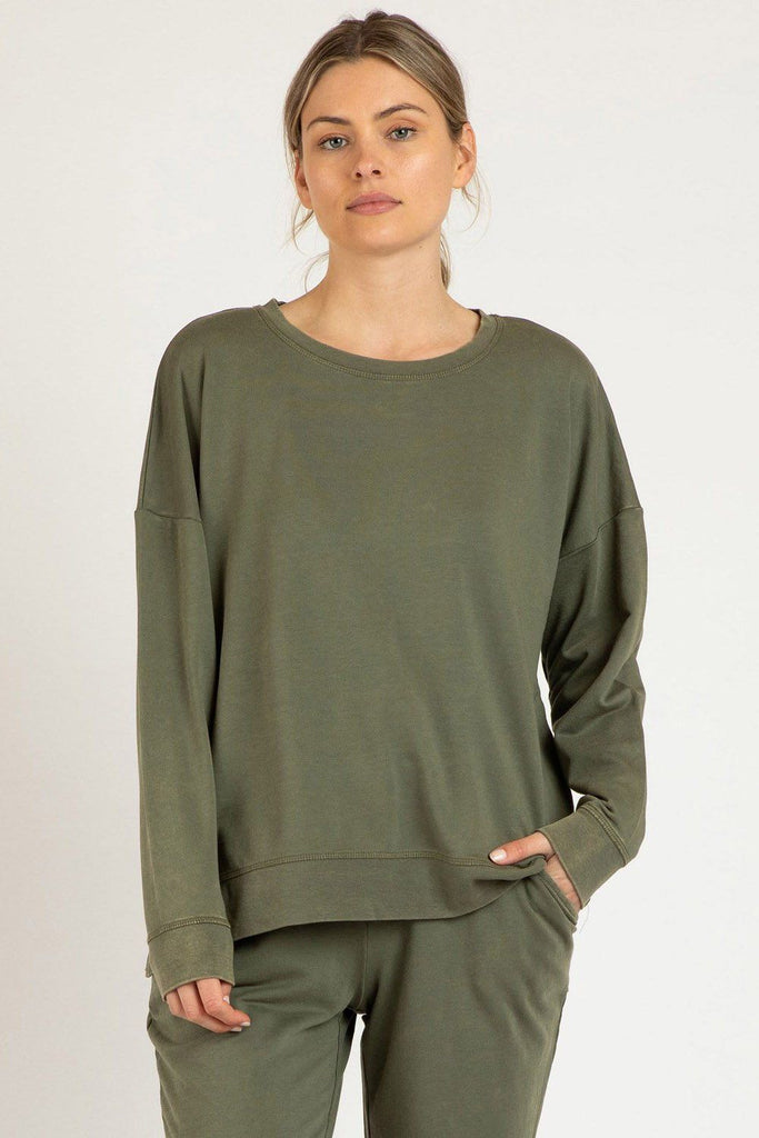 BETTY BASICS Sienna Sweat Fern Front