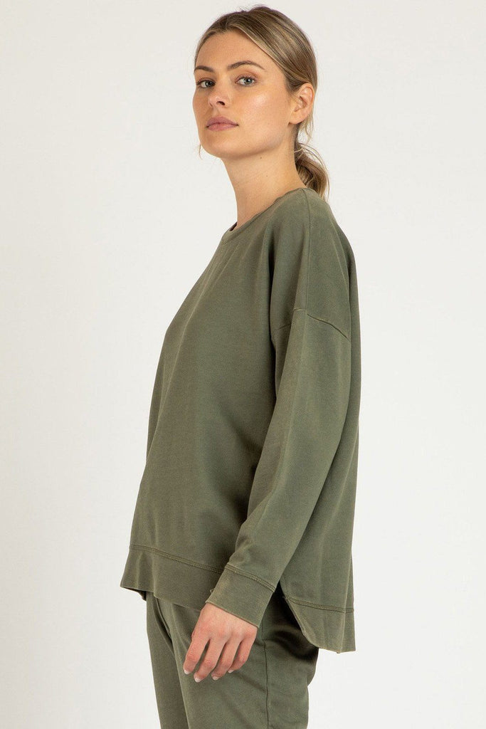 BETTY BASICS Sienna Sweat Fern side