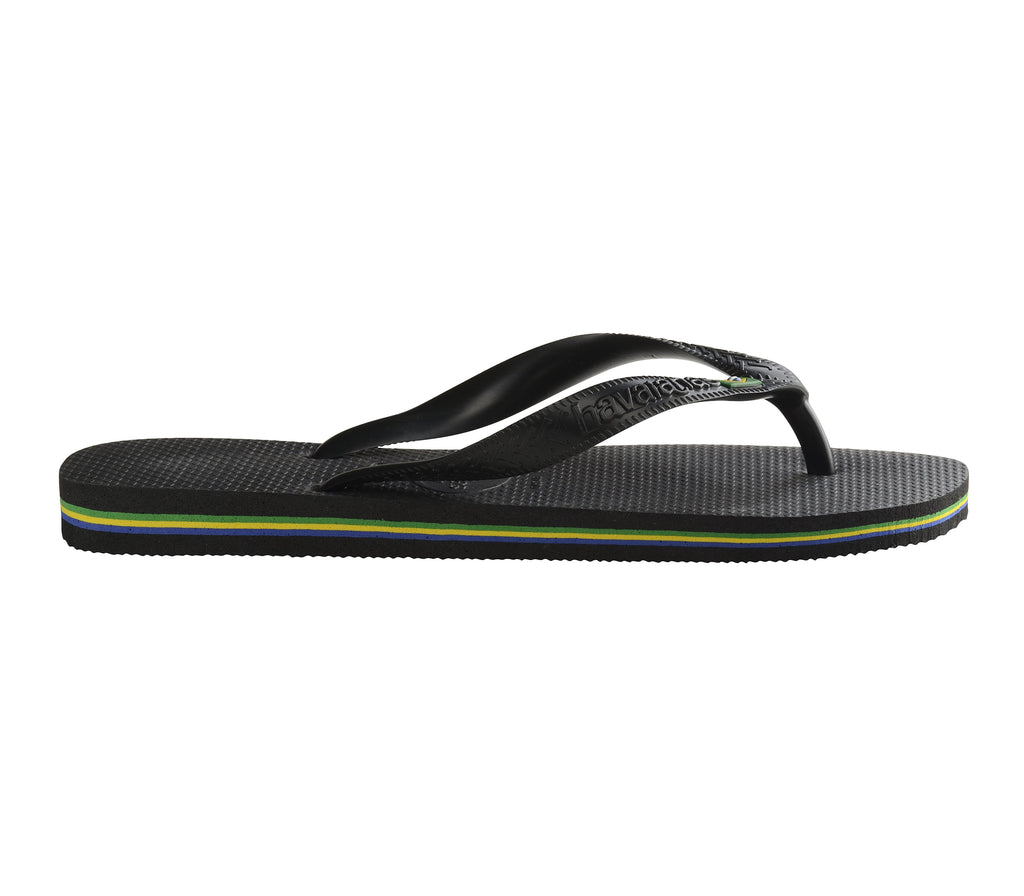 HAVAIANAS Brazil Black Single Flat