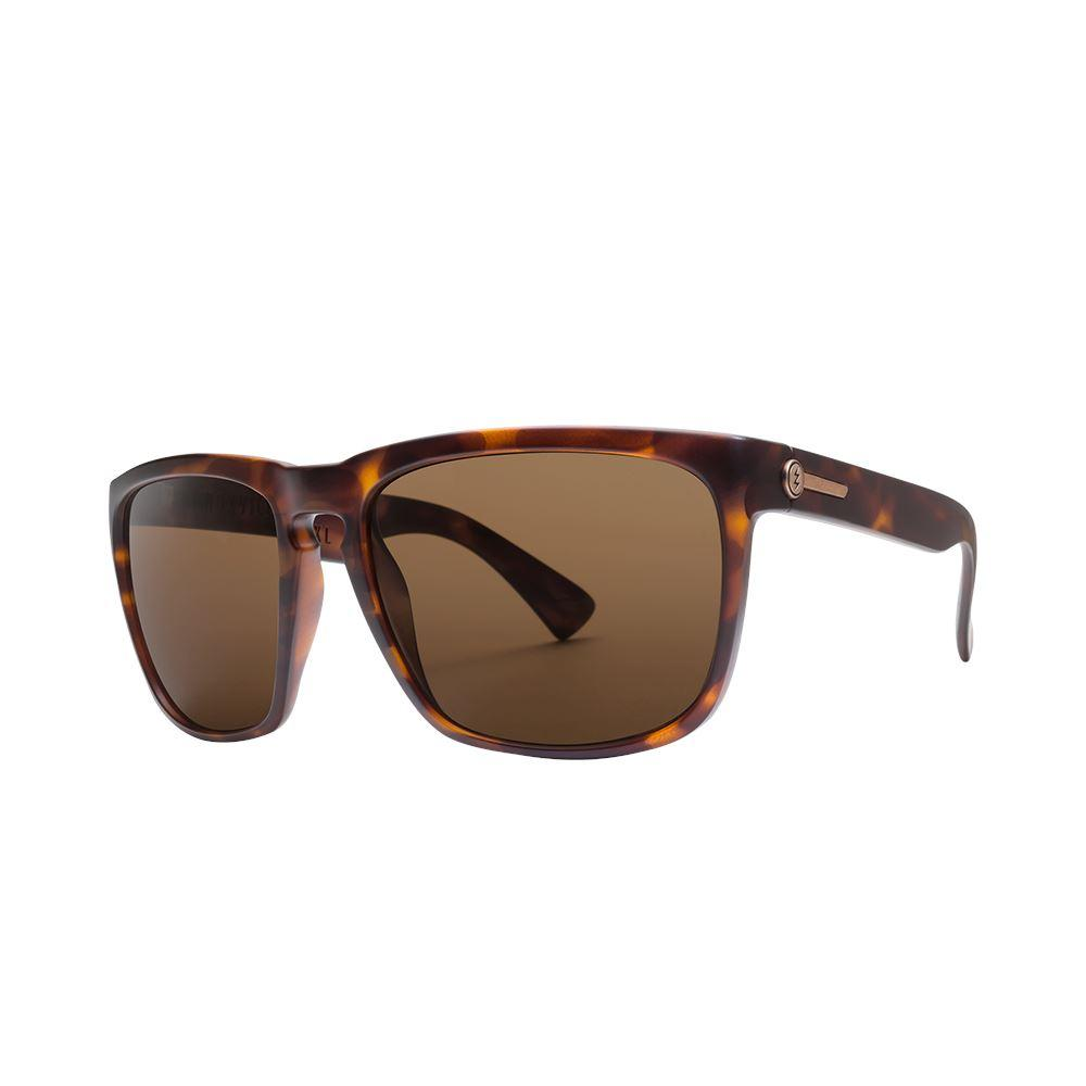 ELECTRIC Knoxville Xl Matte Tortoise Bronze Polarised side Angle