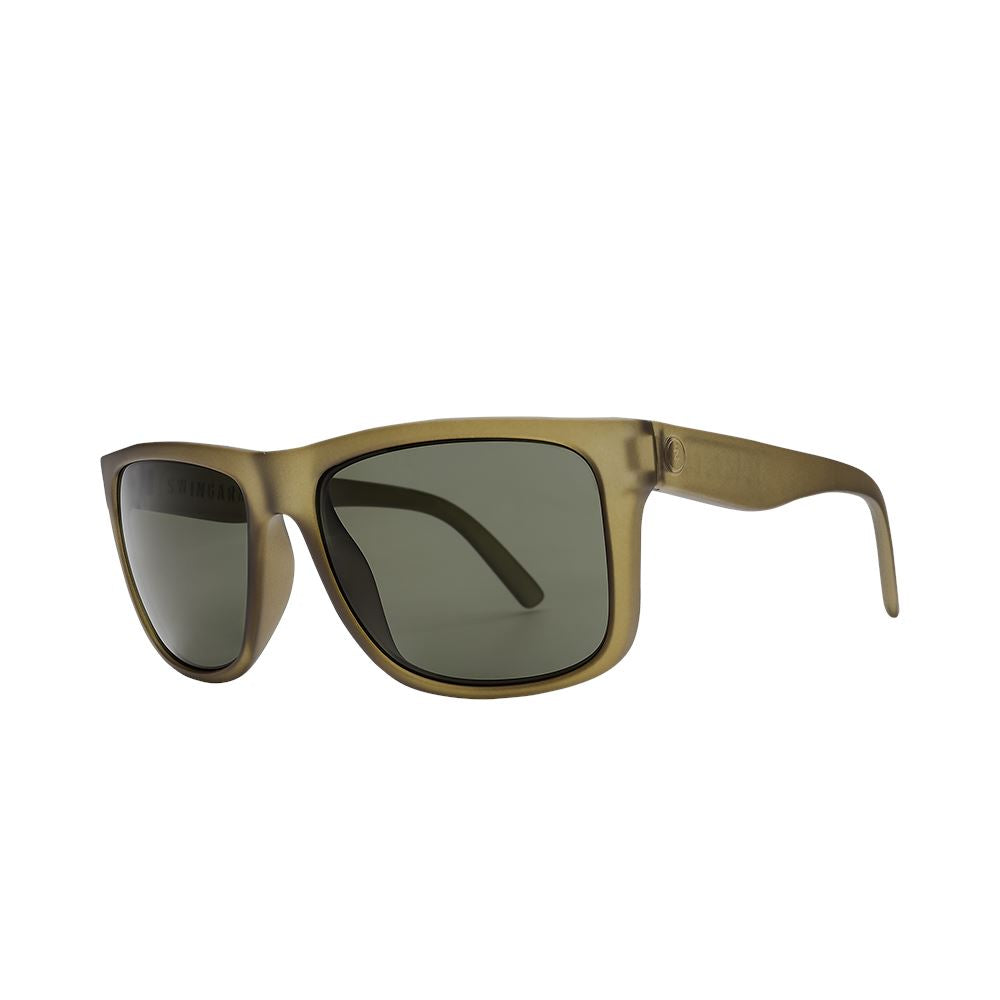 Electric XL Swingarm Matte Olive Grey Polarised