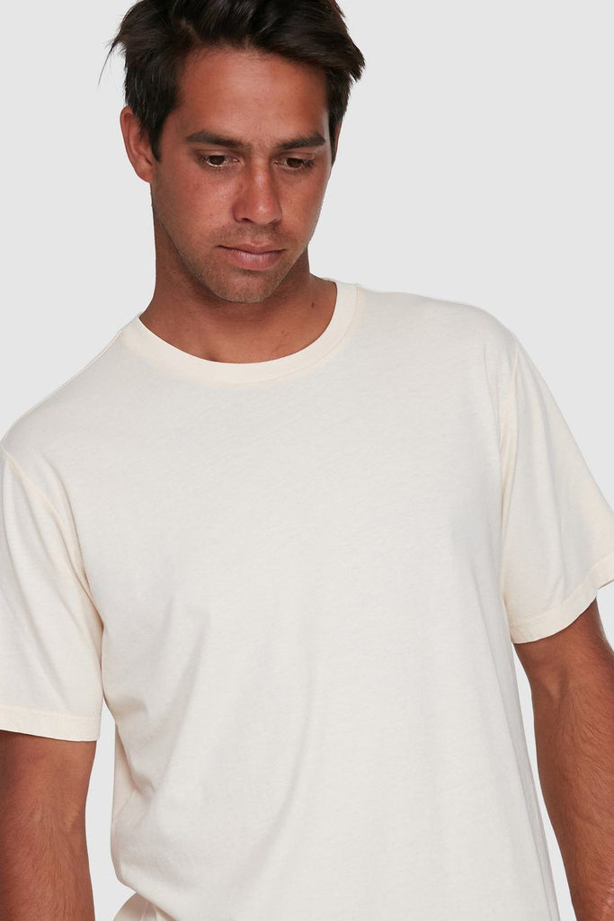 RVCA Washed Tee Bleached Front