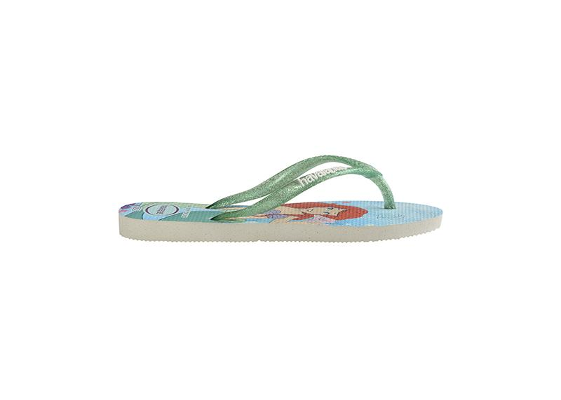 HAVAIANAS Kids Slim Princess Ariel Single Flat