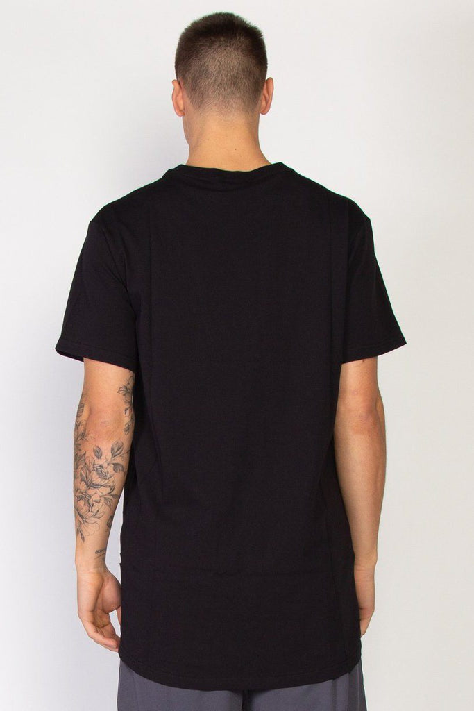 FEDERATION Blocks Look Tee Black Back