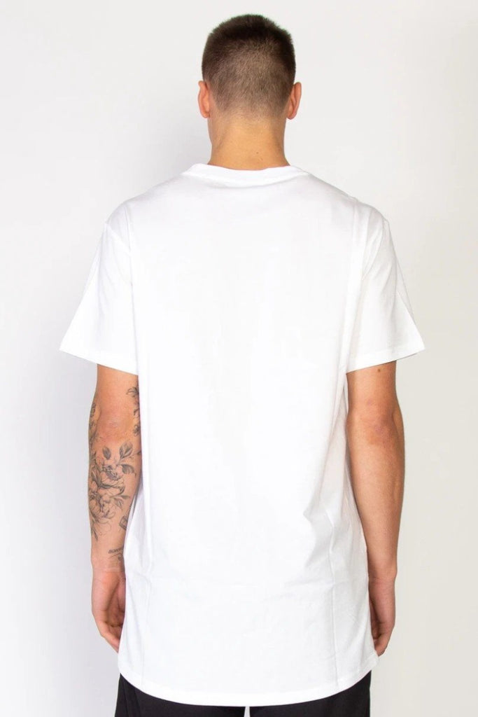 FEDERATION Blocks Look Tee White Back