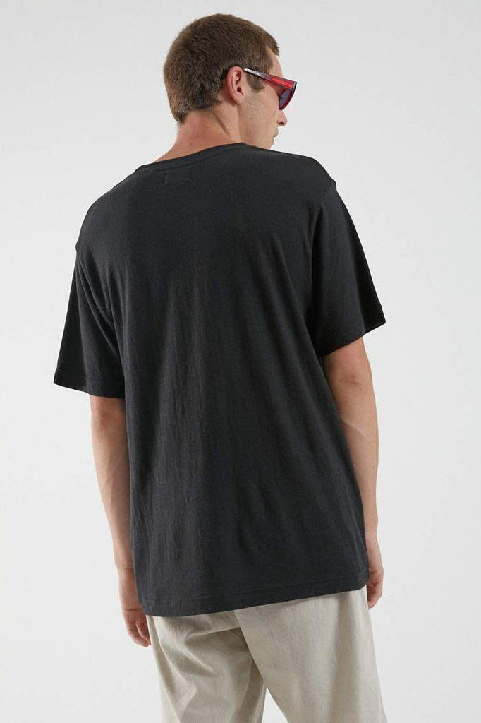 AFENDS Classic Hemp Tee Black Back