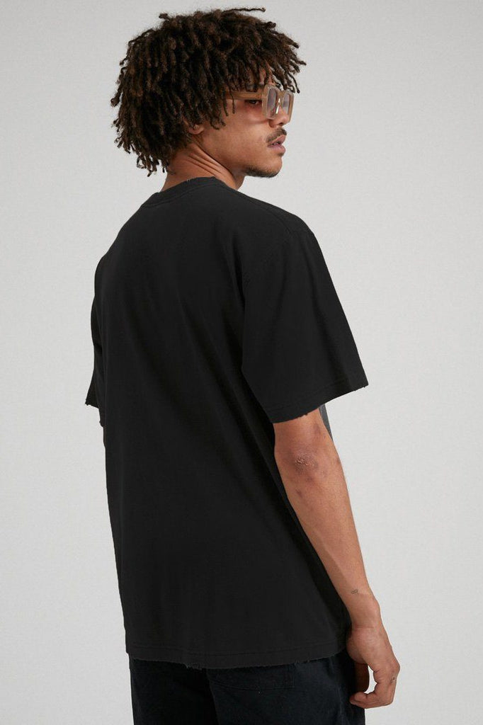 AFENDS Tito Flame Retro Tee Black Back