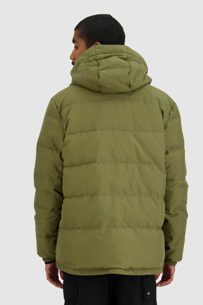 HUFFER Mens Classic Down Jacket Military Back