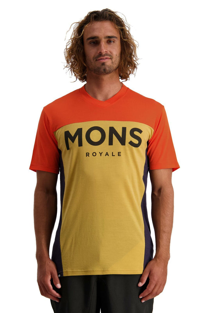 MONS ROYALE Mens Redwood Enduro Vt Desert Alchemy Front