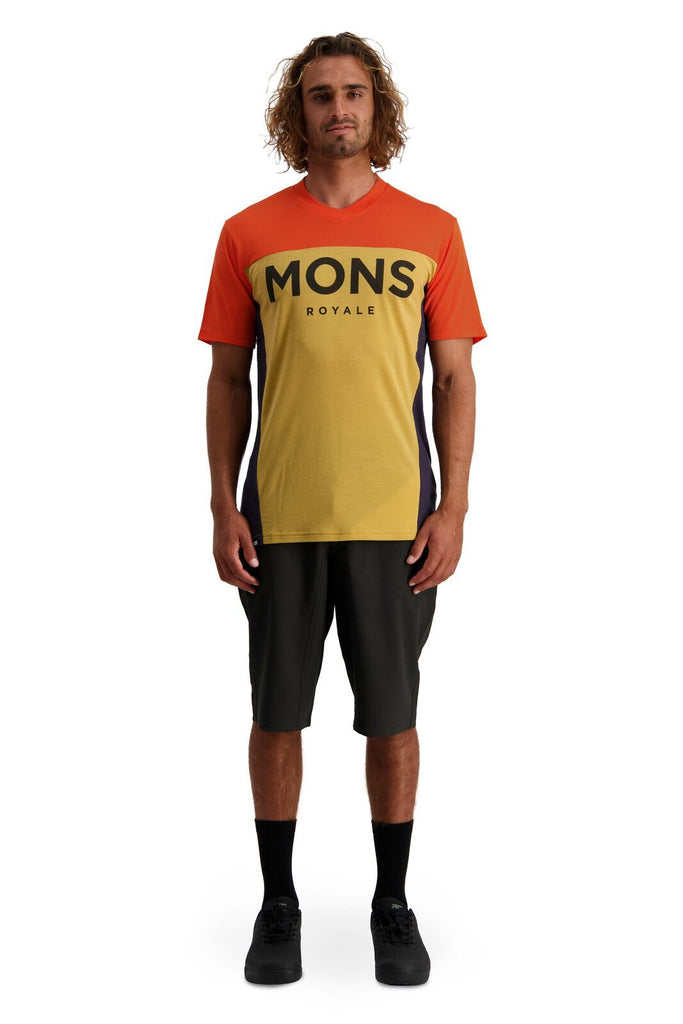 MONS ROYALE Mens Redwood Enduro Vt Desert Alchemy Front Full