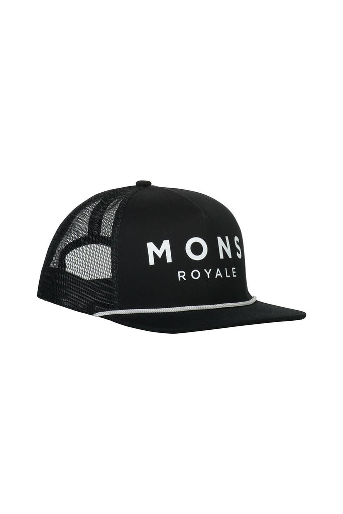 MONS ROYALE Unisex The Acl Trucker Cap Black Front