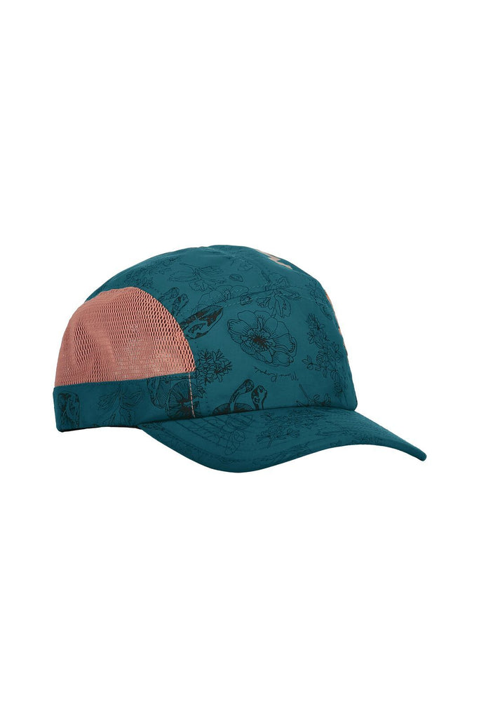 MONS ROYALE Unisex Voss Cap Forest Alchemy Front Angle