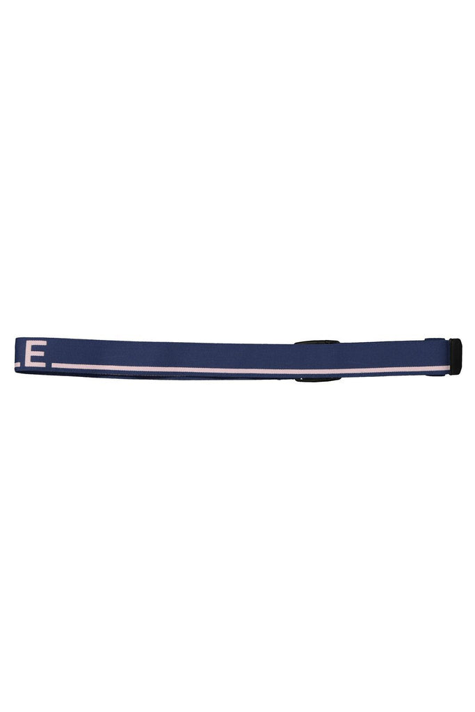 MONS ROYALE Unisex Mons Belt Dark Denim Powder Pink Back
