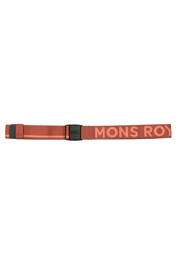 MONS ROYALE Unisex Mons Belt Terracotta Pink Clay Front