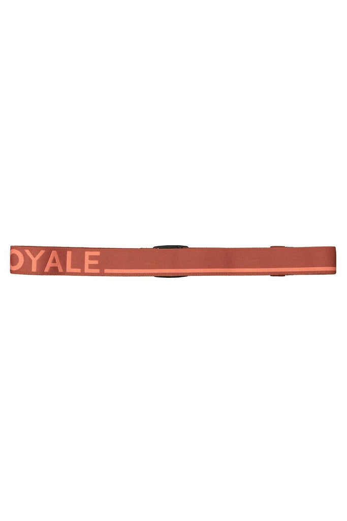 MONS ROYALE Unisex Mons Belt Terracotta Pink Clay Back