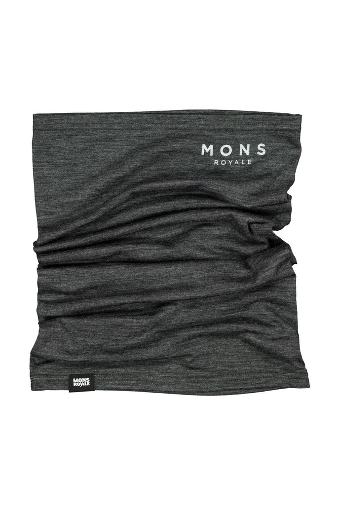 MONS ROYALE Unisex Light Adventure Neckwarmer Smoke