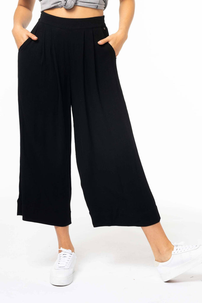 RUSTY Blair Flare Pant Black front