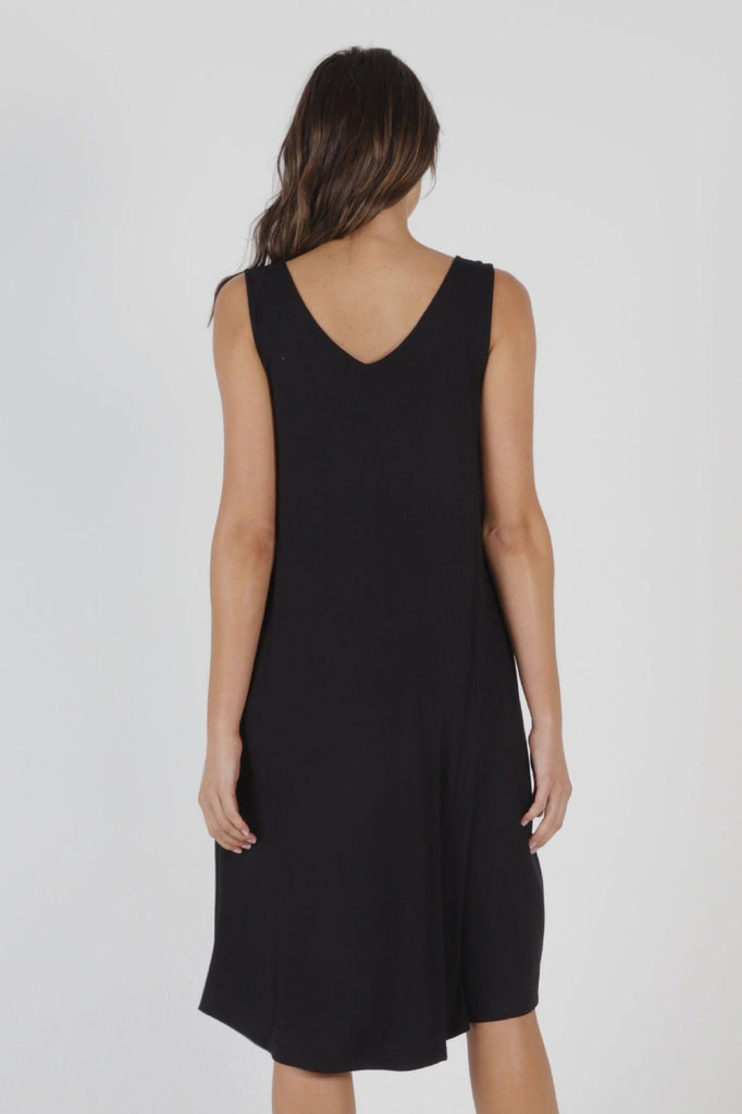 BETTY BASICS Oman Dress Black Back