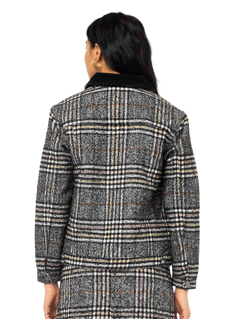 RUSTY Willow Jacket Black Back