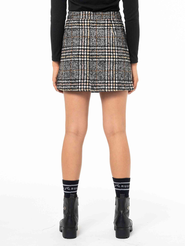 RUSTY Willow Skirt Black Back