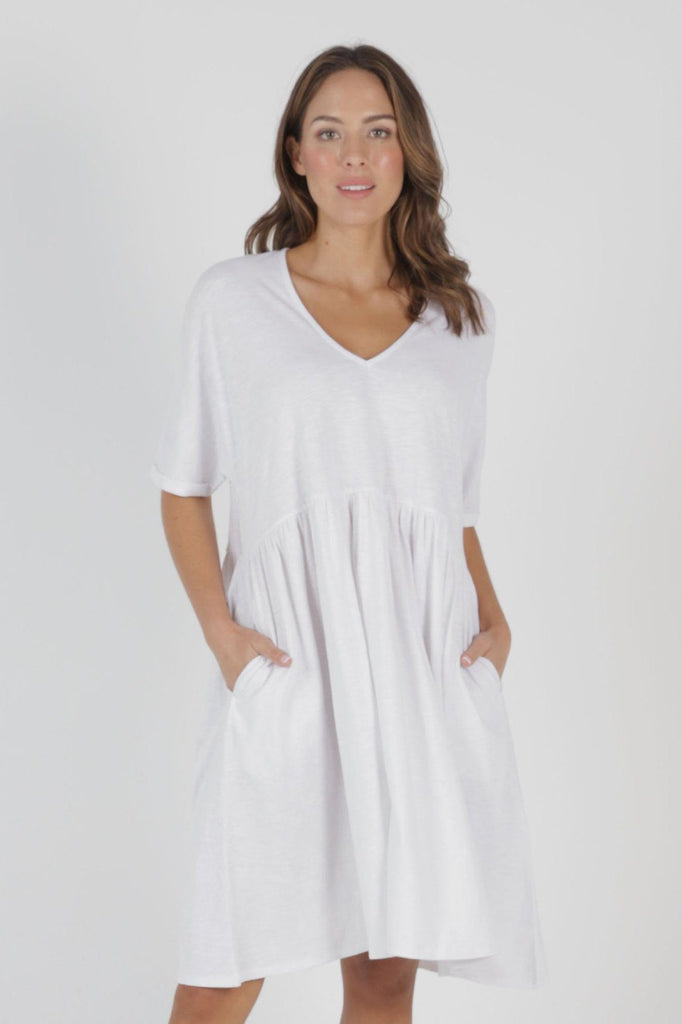 BETTY BASICS Portsea Dress White Front