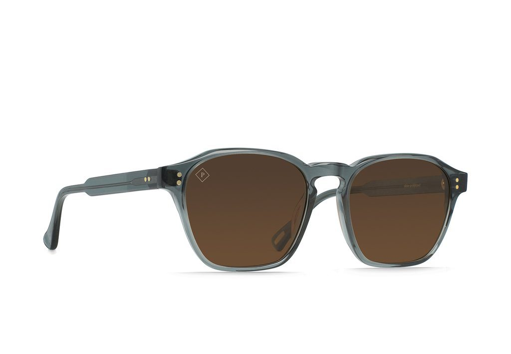 RAEN Aren Slate Vibrant Brown Polarised 53 Side Angle