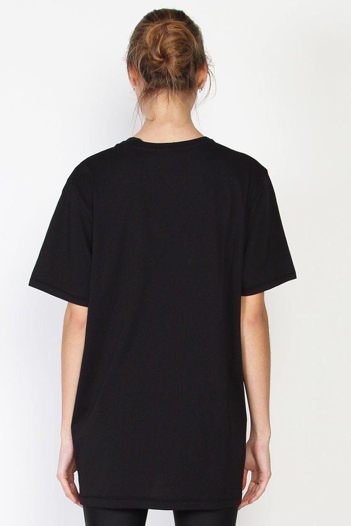 FEDERATION Scatter Rush Tee Black back