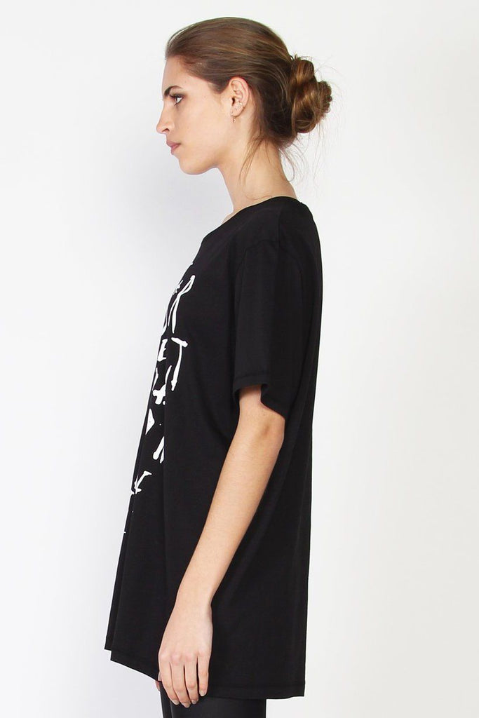 FEDERATION Scatter Rush Tee Black Side